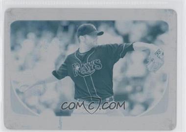 2011 Bowman - [Base] - Printing Plate Cyan #146 - Wade Davis /1
