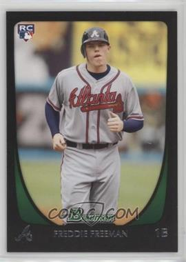2011 Bowman - [Base] #205 - Freddie Freeman