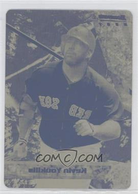 2011 Bowman - Bowman's Best - Printing Plate Yellow #BB21 - Kevin Youkilis /1