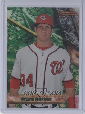 2011 Bowman - Bowman's Best Prospects - Refractor #BBP51 - Bryce Harper /99