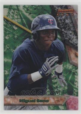2011 Bowman - Bowman's Best Prospects - Refractor #BBP67 - Miguel Sano /99