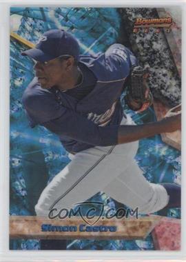 2011 Bowman - Bowman's Best Prospects - X-Fractor #BBP4 - Simon Castro /25