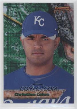 2011 Bowman - Bowman's Best Prospects - X-Fractor #BBP58 - Christian Colon /25