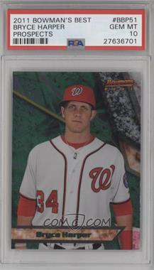 2011 Bowman - Bowman's Best Prospects #BBP51 - Bryce Harper [PSA10]
