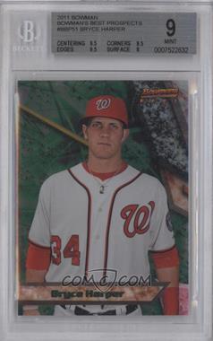 2011 Bowman - Bowman's Best Prospects #BBP51 - Bryce Harper [BGS9]