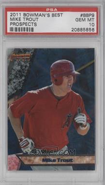 2011 Bowman - Bowman's Best Prospects #BBP9 - Mike Trout [PSA10]