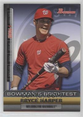 2011 Bowman - Bowman's Brightest #BBR1 - Bryce Harper