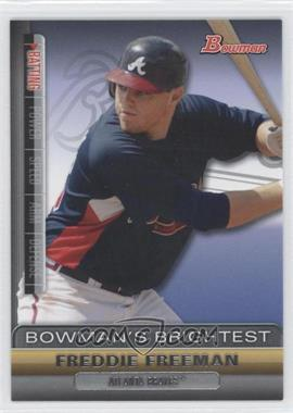 2011 Bowman - Bowman's Brightest #BBR16 - Freddie Freeman