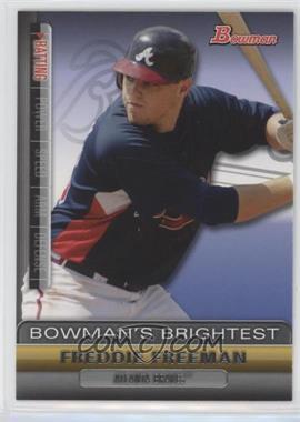 2011 Bowman - Bowman's Brightest #BBR16 - Freddie Freeman