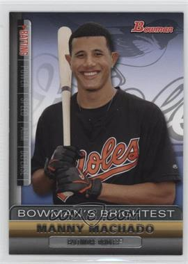 2011 Bowman - Bowman's Brightest #BBR19 - Manny Machado