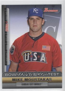 2011 Bowman - Bowman's Brightest #BBR2 - Mike Moustakas