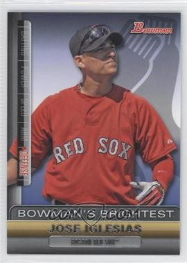 2011 Bowman - Bowman's Brightest #BBR21 - Jose Iglesias