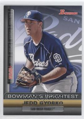 2011 Bowman - Bowman's Brightest #BBR25 - Jedd Gyorko