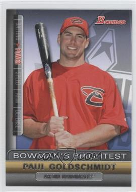 2011 Bowman - Bowman's Brightest #BBR4 - Paul Goldschmidt