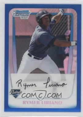 2011 Bowman - Chrome Prospects - Blue Refractor #BCP101 - Rymer Liriano /250