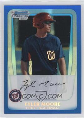2011 Bowman - Chrome Prospects - Blue Refractor #BCP5 - Tyler Moore /250
