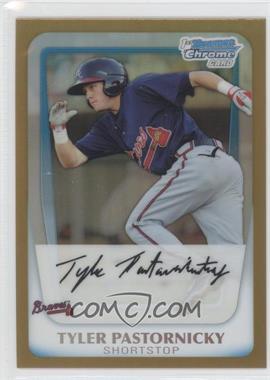 2011 Bowman - Chrome Prospects - Gold Refractor #BCP141 - Tyler Pastornicky /50
