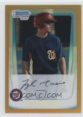 2011 Bowman - Chrome Prospects - Gold Refractor #BCP5 - Tyler Moore /50