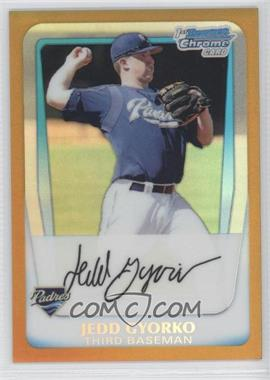 2011 Bowman - Chrome Prospects - Gold Refractor #BCP83 - Jedd Gyorko /50