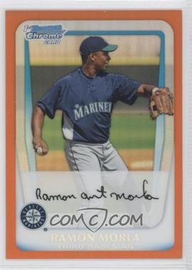 2011 Bowman - Chrome Prospects - Orange Refractor #BCP139 - Ramon Morla /25