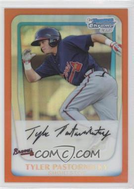 2011 Bowman - Chrome Prospects - Orange Refractor #BCP141 - Tyler Pastornicky /25