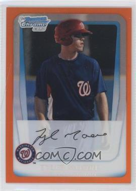 2011 Bowman - Chrome Prospects - Orange Refractor #BCP5 - Tyler Moore /25