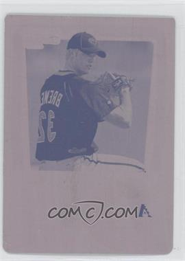2011 Bowman - Chrome Prospects - Printing Plate Magenta #BCP12 - Charles Brewer /1