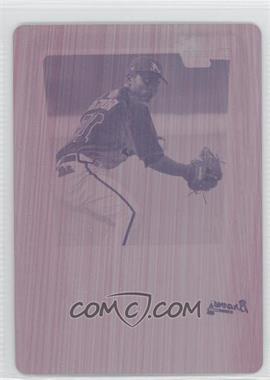 2011 Bowman - Chrome Prospects - Printing Plate Magenta #BCP145 - Elmer Reyes /1