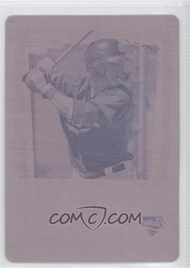 2011 Bowman - Chrome Prospects - Printing Plate Magenta #BCP35 - Jason Hagerty /1