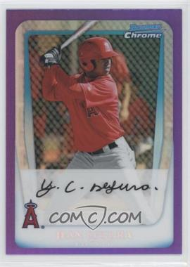 2011 Bowman - Chrome Prospects - Purple Refractor #BCP131 - Jean Segura /799