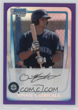 2011 Bowman - Chrome Prospects - Purple Refractor #BCP23 - Vinnie Catricala /700