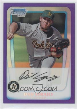 2011 Bowman - Chrome Prospects - Purple Refractor #BCP53 - Dan Straily /700