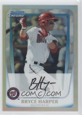 2011 Bowman - Chrome Prospects - Refractor #BCP1 - Bryce Harper /799
