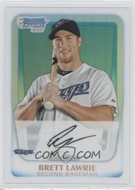 2011 Bowman - Chrome Prospects - Refractor #BCP175 - Brett Lawrie /500