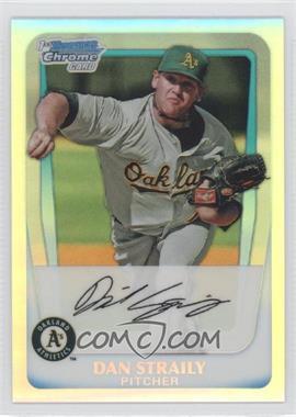 2011 Bowman - Chrome Prospects - Refractor #BCP53 - Dan Straily /799