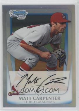 2011 Bowman - Chrome Prospects - Refractor #BCP66 - Matt Carpenter /799