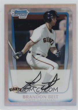 2011 Bowman - Chrome Prospects - Refractor #BCP93 - Brandon Belt /799