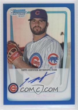 2011 Bowman - Chrome Prospects Autograph - Blue Refractor #BCP180 - Trey McNutt /150