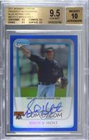 Brock Holt [BGS 9.5 GEM MINT] #/150