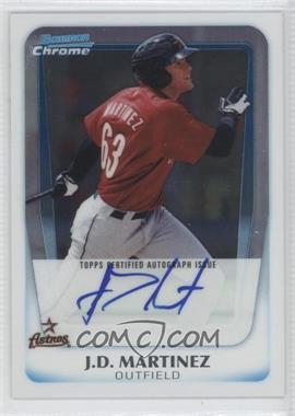 2011 Bowman - Chrome Prospects Autograph #BCP92 - J.D. Martinez