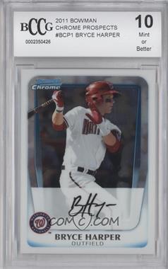 2011 Bowman - Chrome Prospects #BCP1 - Bryce Harper [ENCASED]