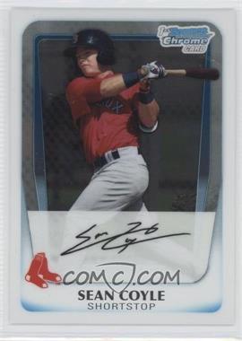 2011 Bowman - Chrome Prospects #BCP100 - Sean Coyle