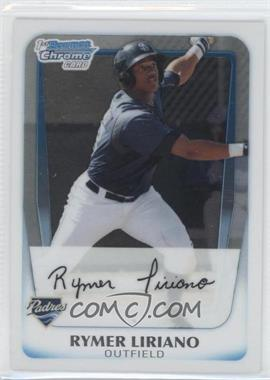 2011 Bowman - Chrome Prospects #BCP101 - Rymer Liriano