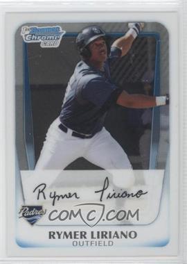 2011 Bowman - Chrome Prospects #BCP101 - Rymer Liriano