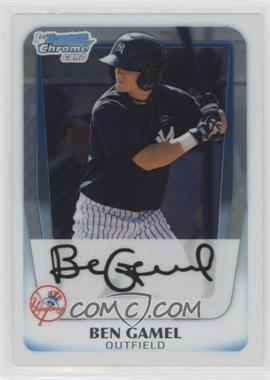 2011 Bowman - Chrome Prospects #BCP104 - Ben Gamel