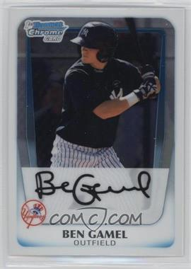 2011 Bowman - Chrome Prospects #BCP104 - Ben Gamel