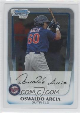 2011 Bowman - Chrome Prospects #BCP113 - Oswaldo Arcia