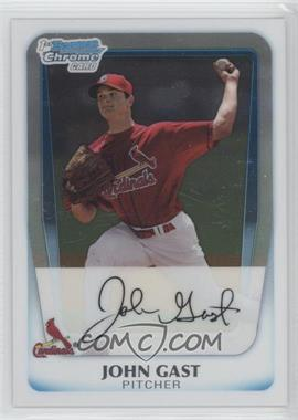 2011 Bowman - Chrome Prospects #BCP121 - John Gast