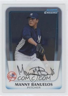 2011 Bowman - Chrome Prospects #BCP133 - Manny Banuelos