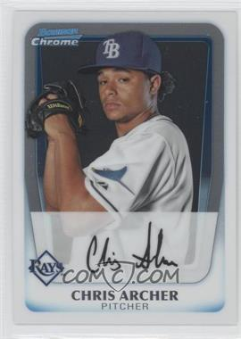 2011 Bowman - Chrome Prospects #BCP134 - Chris Archer